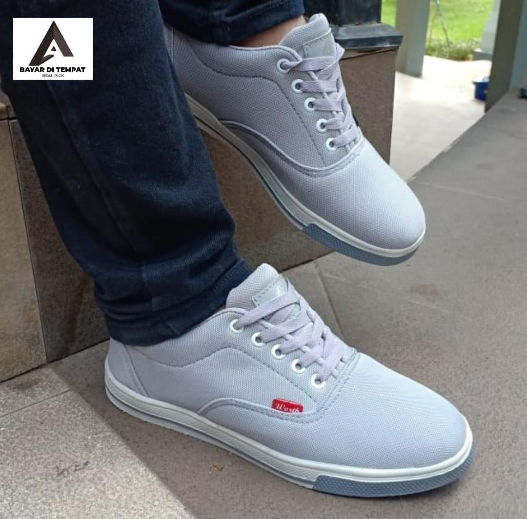 worth – sepatu sneakers / sepatu running / sepatu kasual / sepatu sekolah pria wanita + box