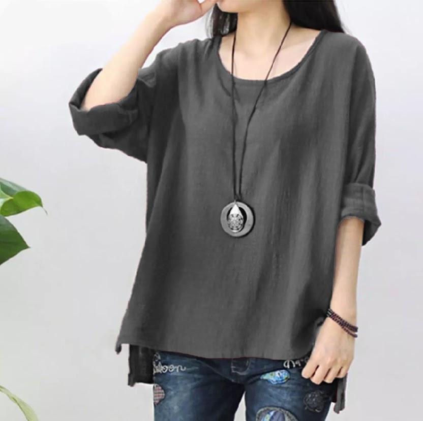 [ bisa cod ] hdm blouse verra #hij / blouse wanita / blouse korea / blouse wanita  / fashion wanita / blouse wanita korea