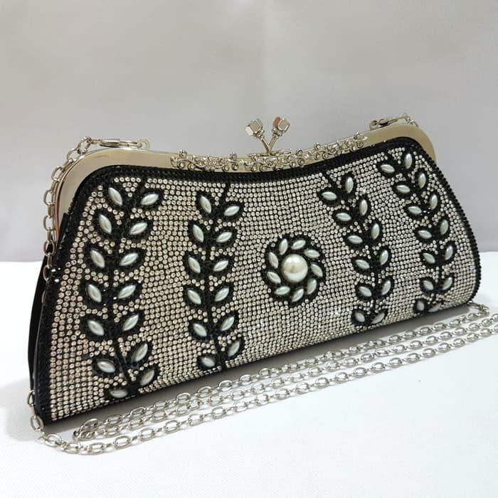 Dompet Pesta Mutiara Cantik Mewah   Clutch Cantik   Handbag Murah b781bdae4c