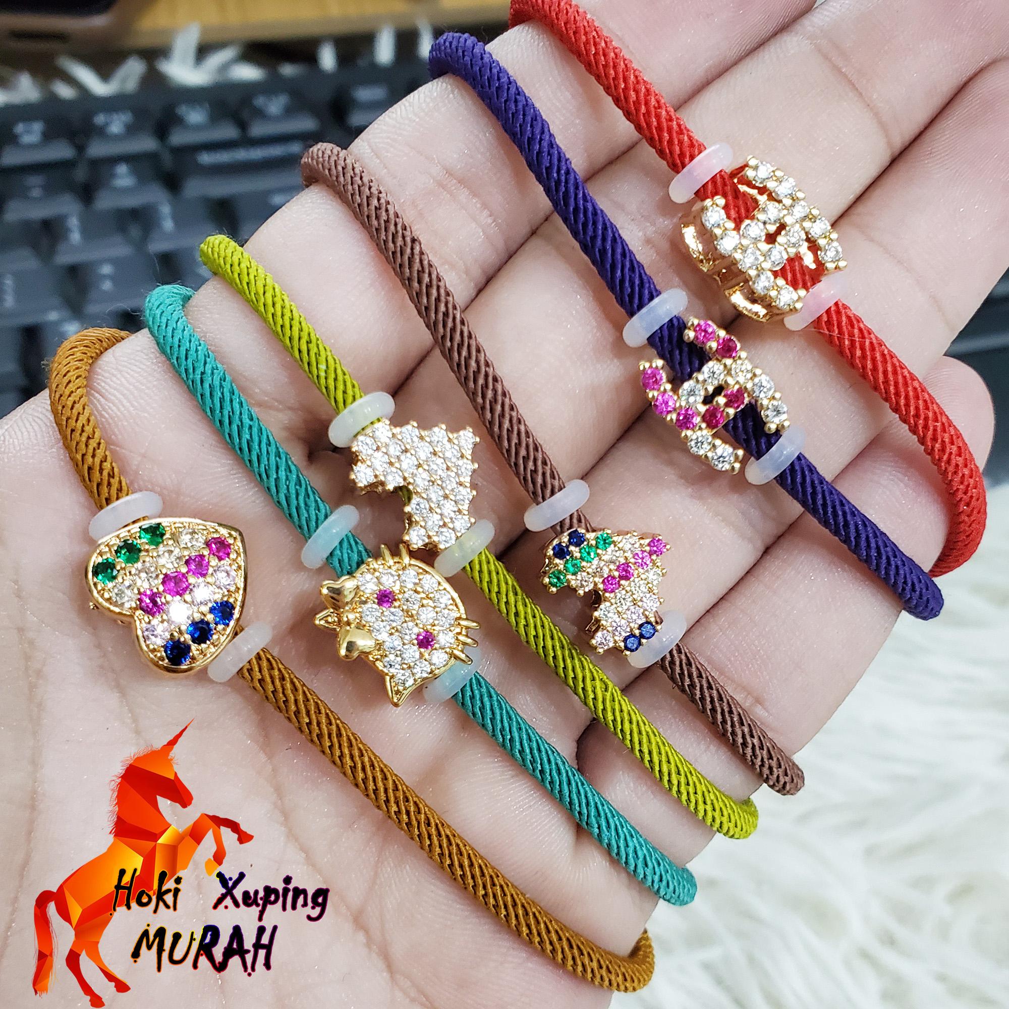 hoki xuping – turun !! gelang tangan serut pandora tnpa lingkaran perhiasan wanita trend artis anti karat