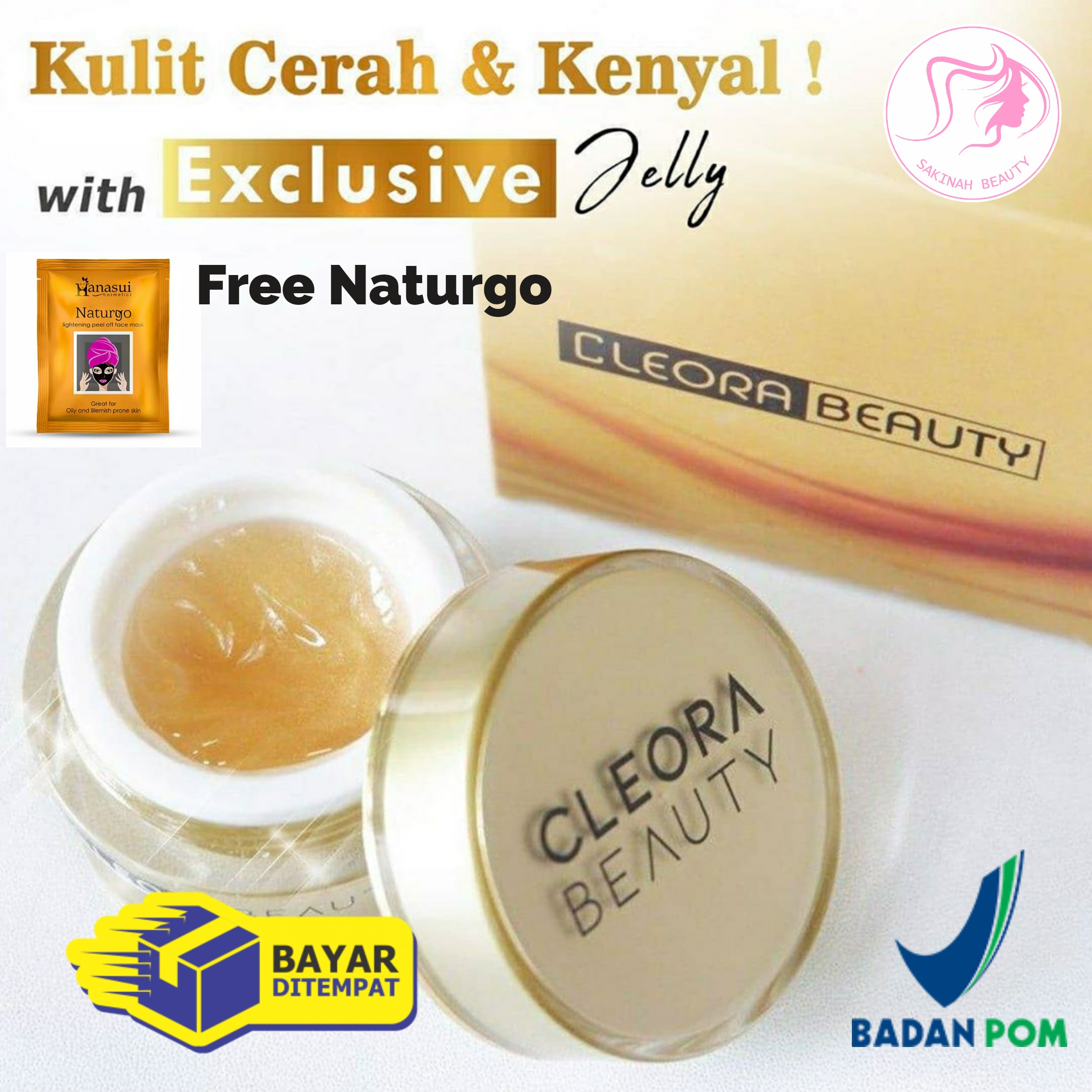 cleora beauty exclusive jelly booster bonus gift