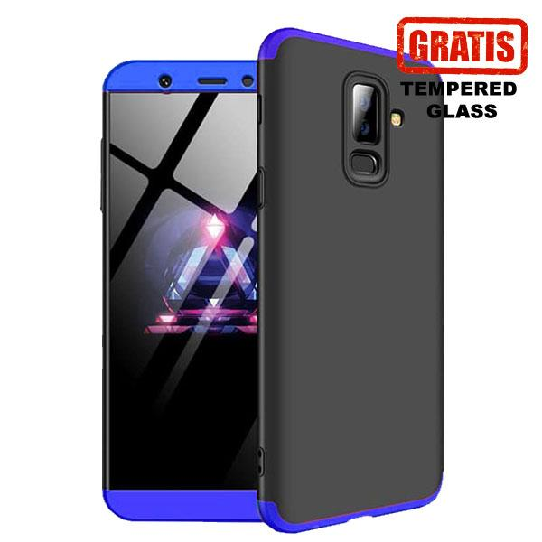 Cover Paradise Samsung Galaxy A6 Plus 2018 Armor 360 Full Cover Protection Case (FREE TG