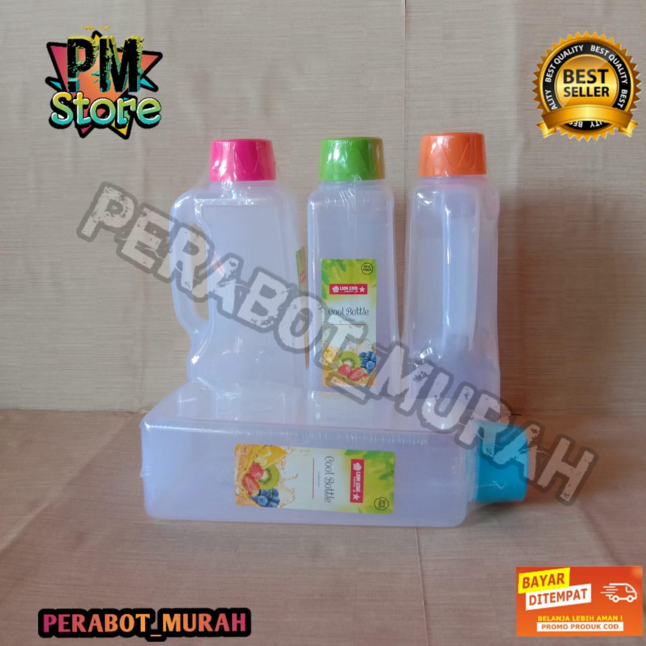 !! [bisa cod ] lion star flower botol kulkas / cool bottle 2 l
