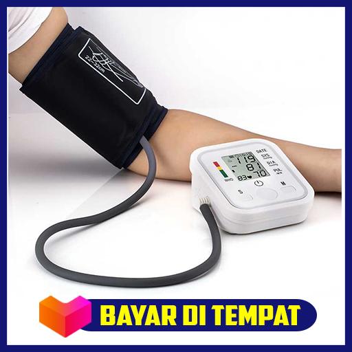 pengukur tekanan darah sphygmomanometer with voice – alat kesehatan tensi monitor elektronik care healthy tools blood berkualitas