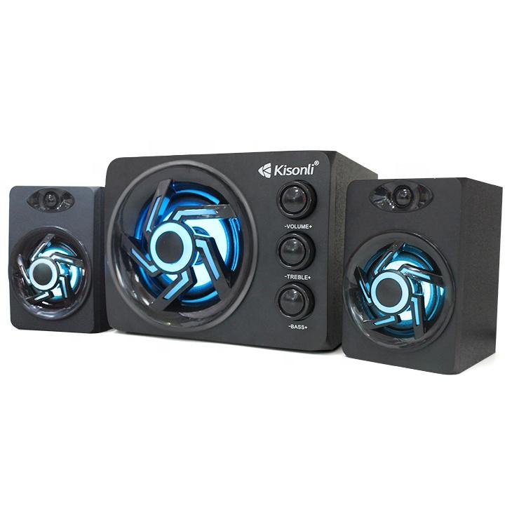 speaker 2.1 aktif subwoofer bluetooth kisonli tm-8000a