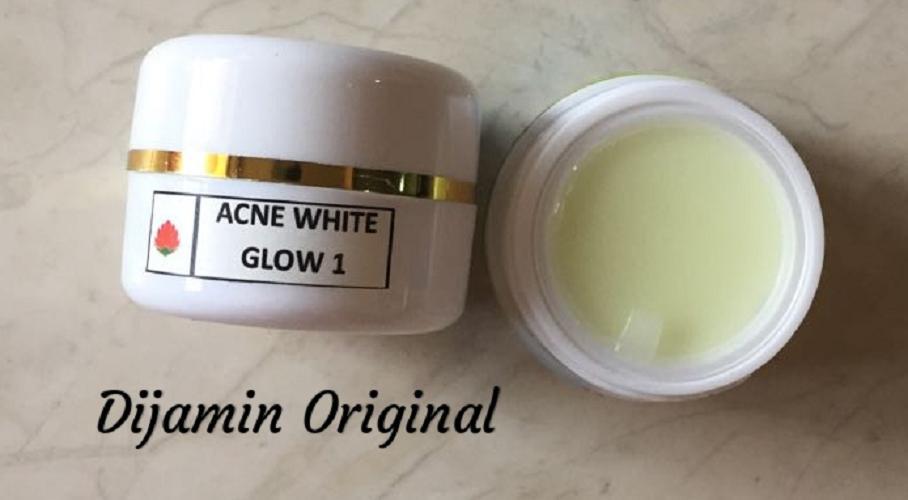 female mall acne white glow cream 1 krim malam jerawat dengan pencerah maksimal – terlaris