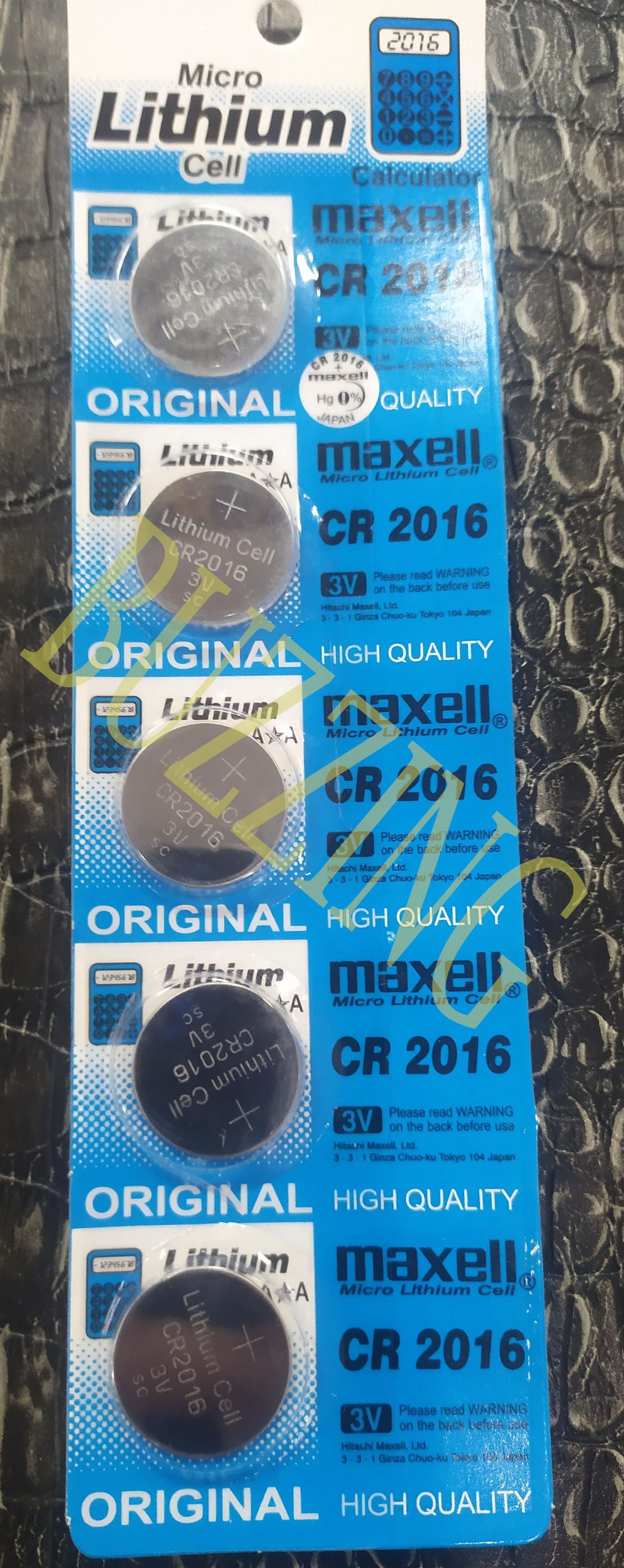 batrai jam tangan kalkulator maxell lithium cr 3v