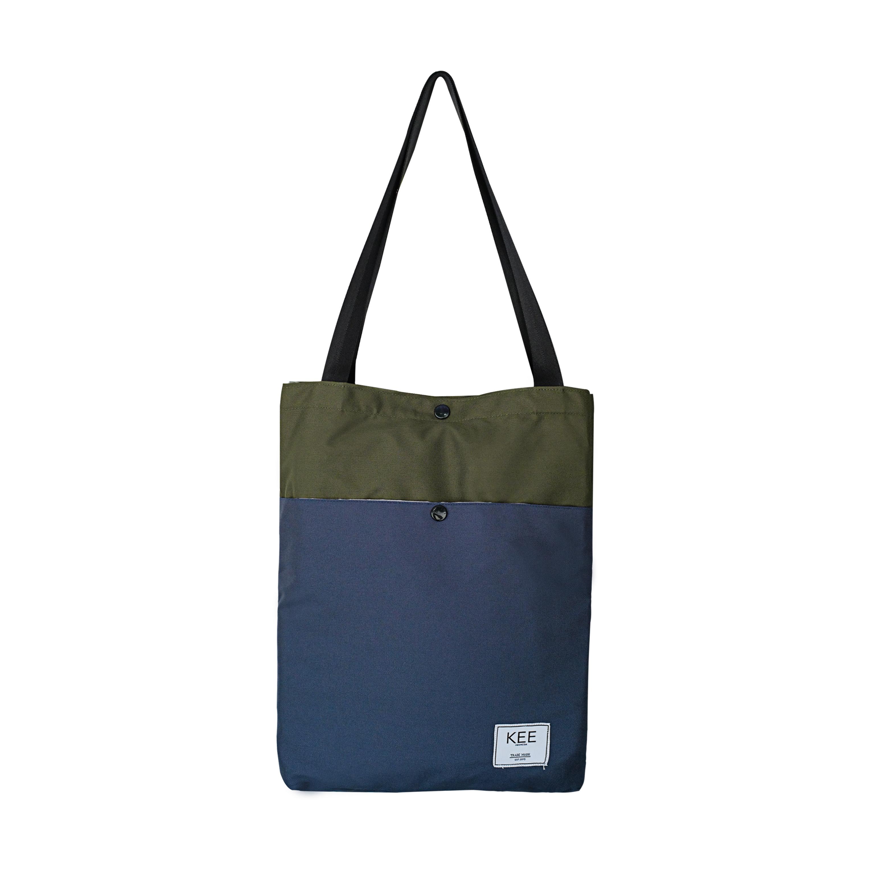 kee tas totebag lila edition green navy tote bag premium