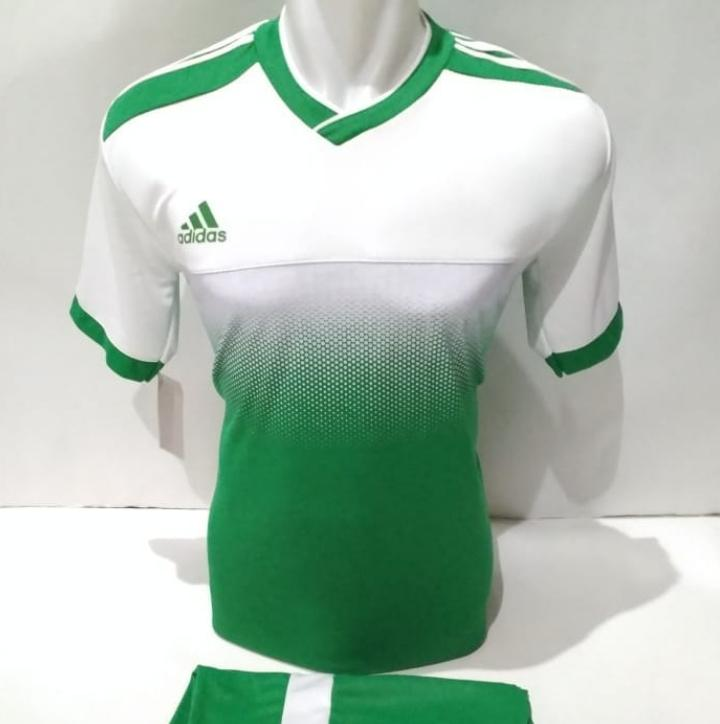 Baju Olahraga Jersey Bola Kaos Setelan Futsal Volly Voli ad 04 hijau