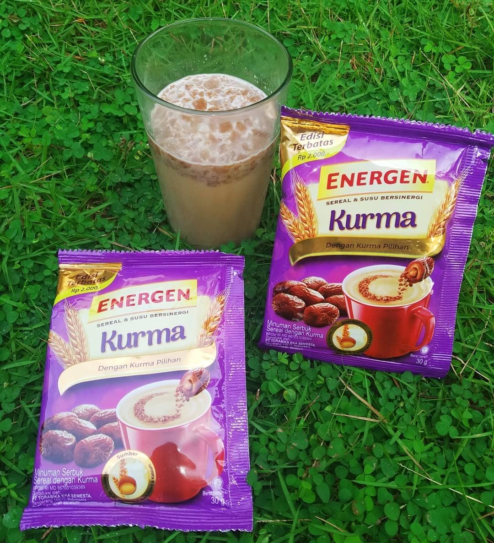 energen sereal kurma susu 1 renteng 10 sachet @30gr varian