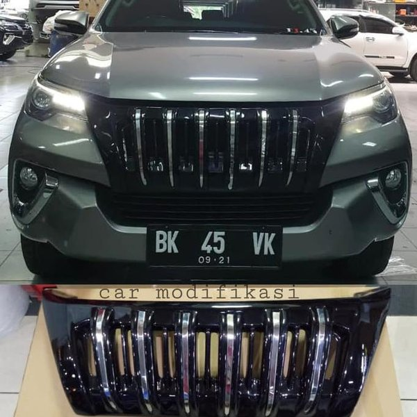 grill depan model apollo all new fortuner