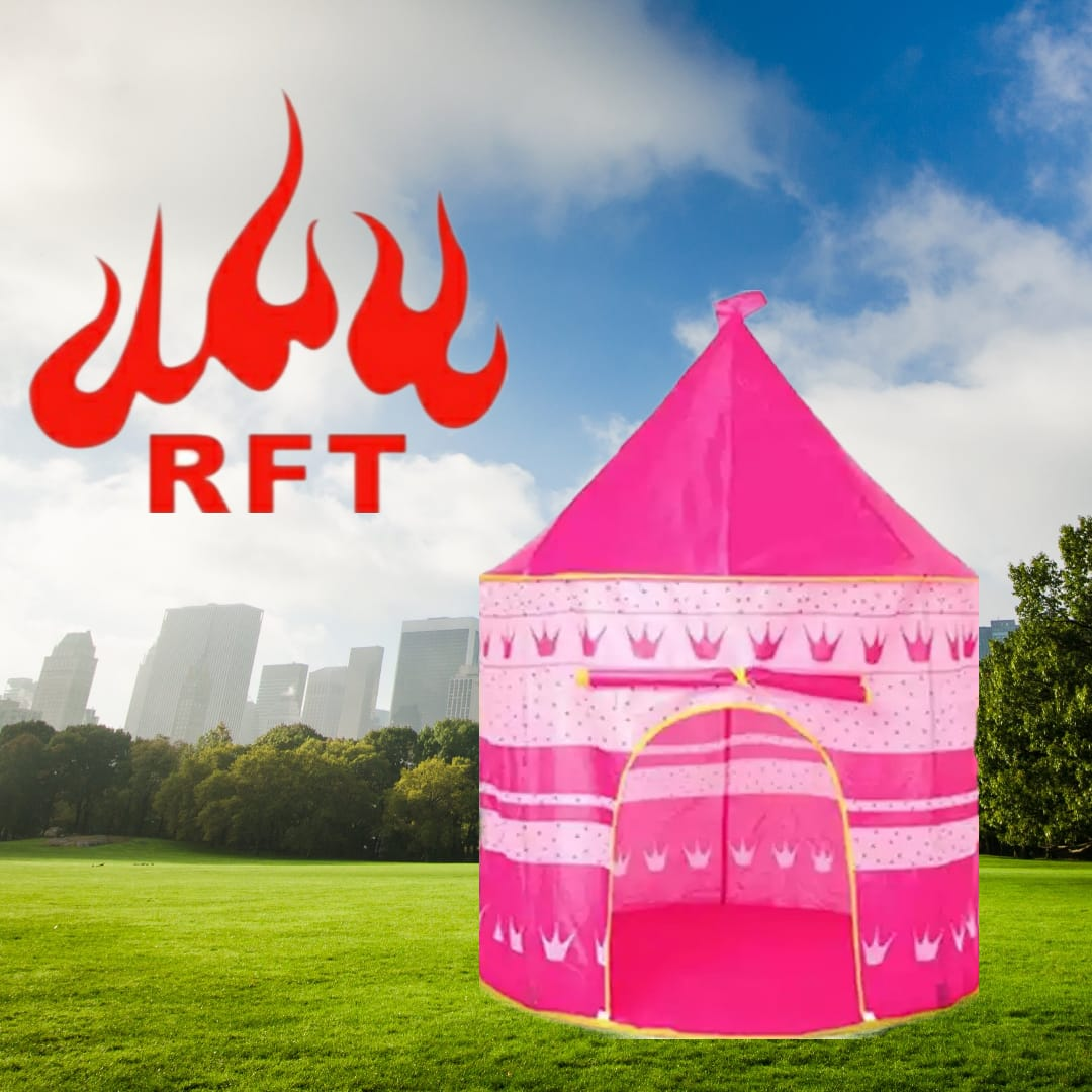 REDFIRE TOYS MAINAN RUMAHAN ANAK TENDA KASTIL CASTLE TENT KIDS CAMPING INDOOR OUTDOOR BAHAN POLYESTER 8808