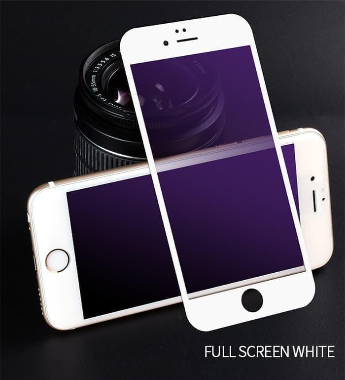 anti gores kaca / anti gores full lem / temperred glass full screen for apple iphone 6 plus