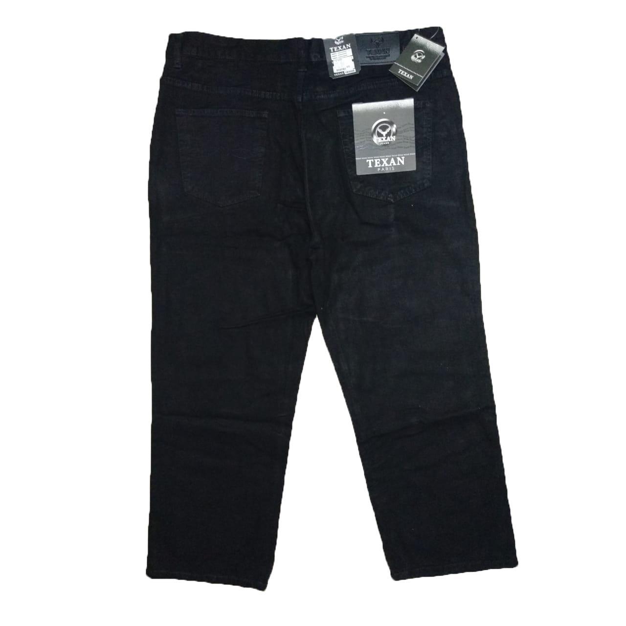 Celana Jeans Panjang Pria Jumbo Big Size 40-44 - Warna Biru Jeans Blue dan