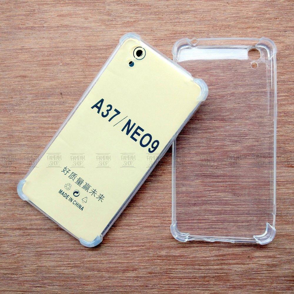 Case TPU Anti Crack Oppo A37 Neo 9 Original Fuze Ultrathin Anti Pecah Benturan Anticrack Ultra ...