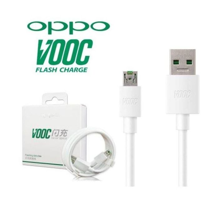 Kabel Data OPPO VOOC Fast Charging [ Micro USB ] original 100%