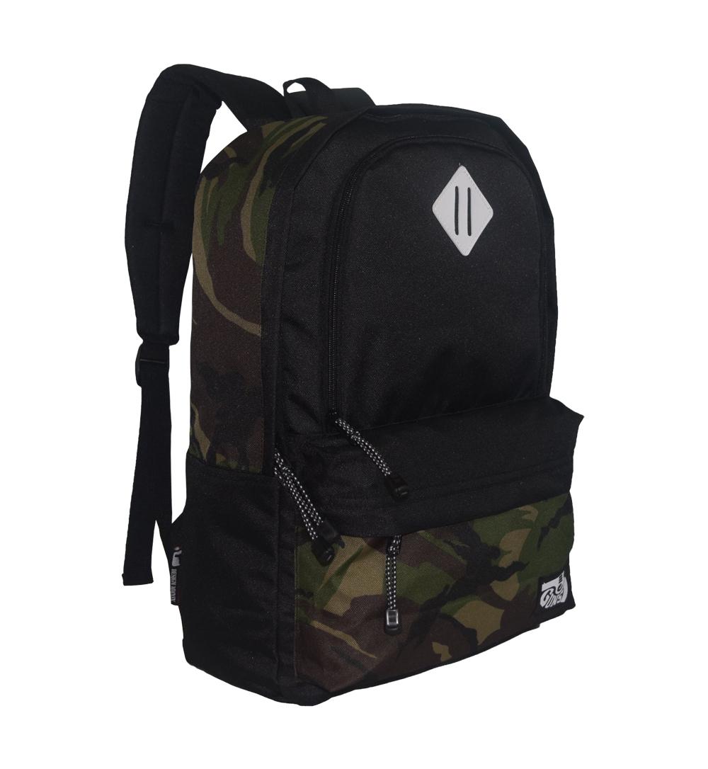 tas ransel pria motif army 2 tas sekolah keren distro original