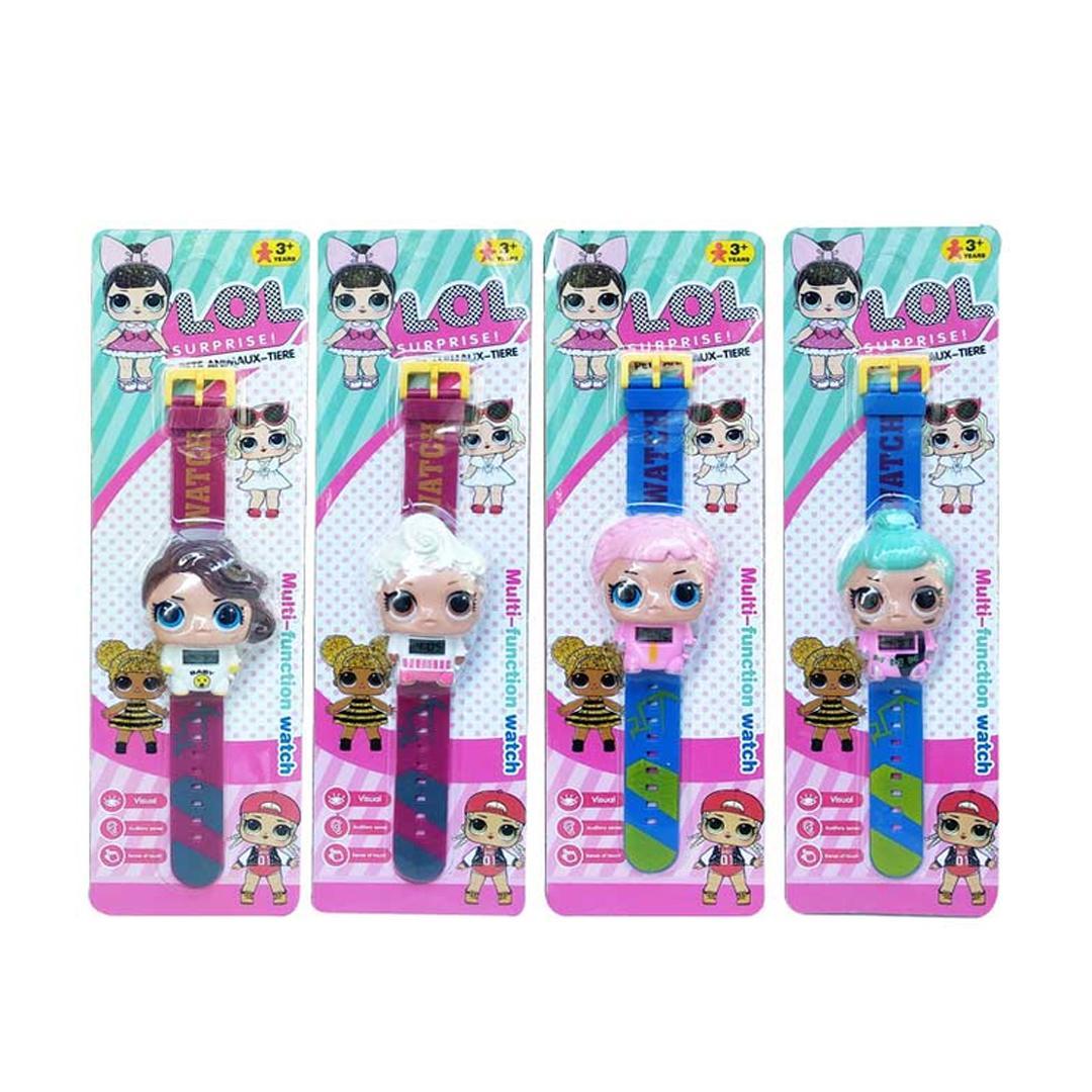 jam tangan lol  –  jam tangan anak iimo / jam tangan anak karakter / jam tangan anak perempuan / mainan anak / papiku