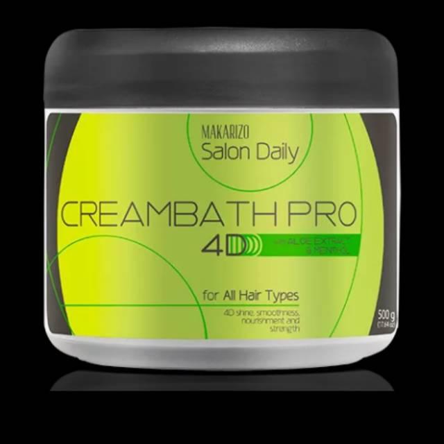 Makarizo Salon Daily Hair Creambath Pro 4D - Masker Creambath 500gr