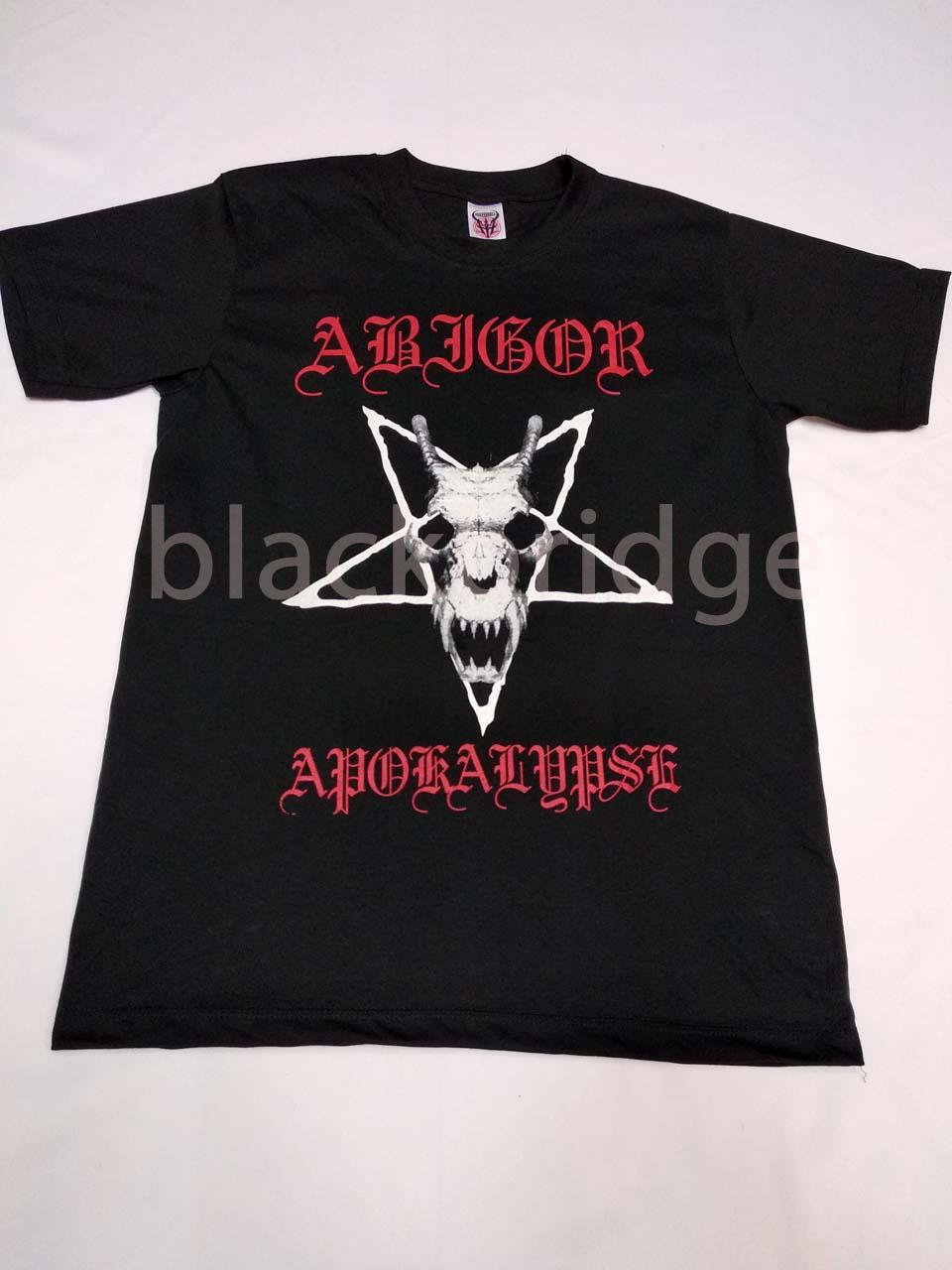 Kaos Pendek / Oblong Band Rock / Metal / Punk PRAPATAN REBEL (Size L) - ABIGOR