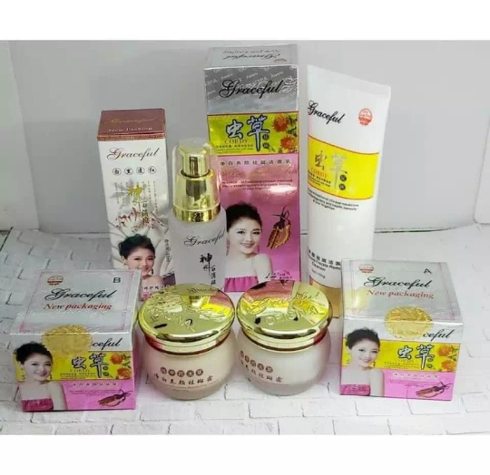 paket cream cordy graceful 100% original / krim cordy graceful