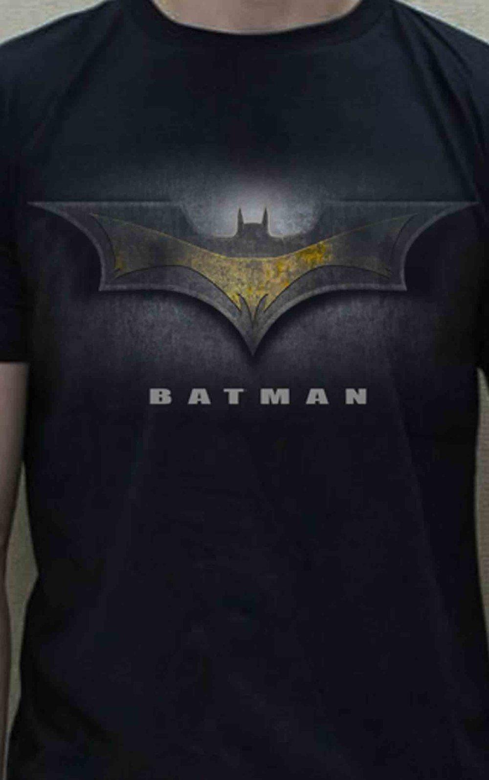 tshirt 3d batman robin original logo