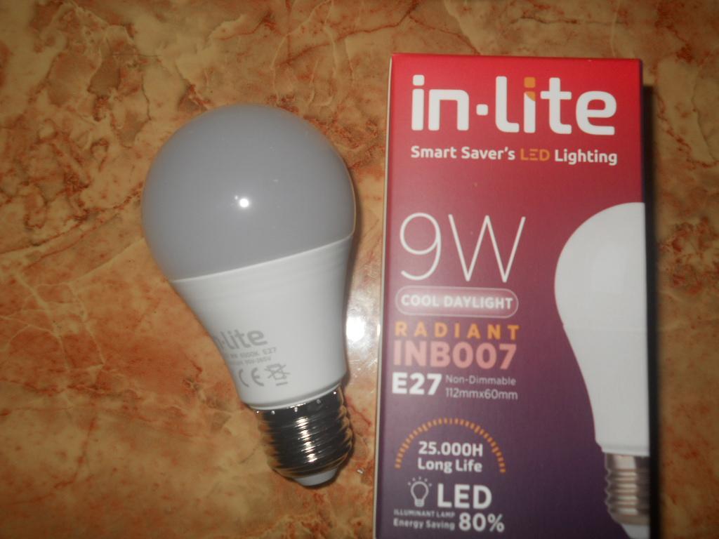Sip Lite Cahaya Terang Bohlam Lampu Led Globe 80Mm S-9 Watt Putih X 2