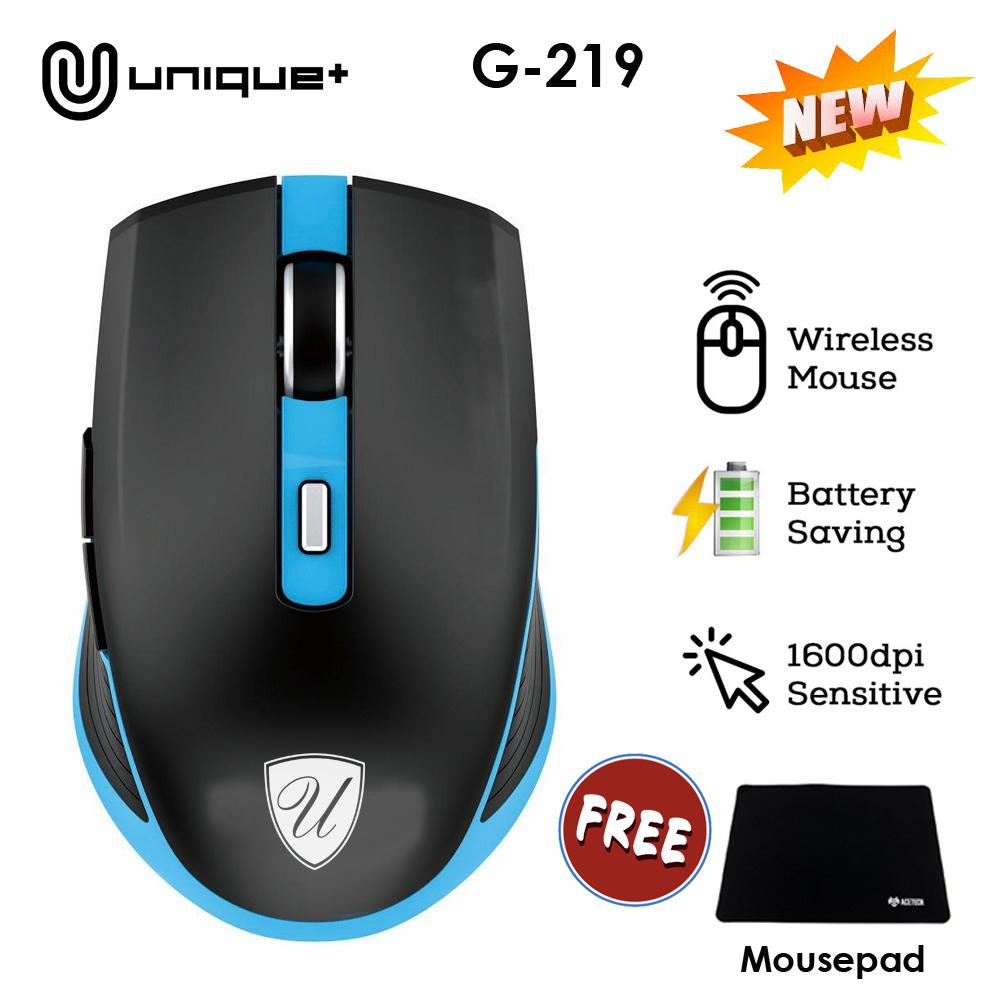 Unique Mouse Wireless G219 Series 2.4GHz Gaming Mouse USB Receiver Pro Gamer For PC Laptop