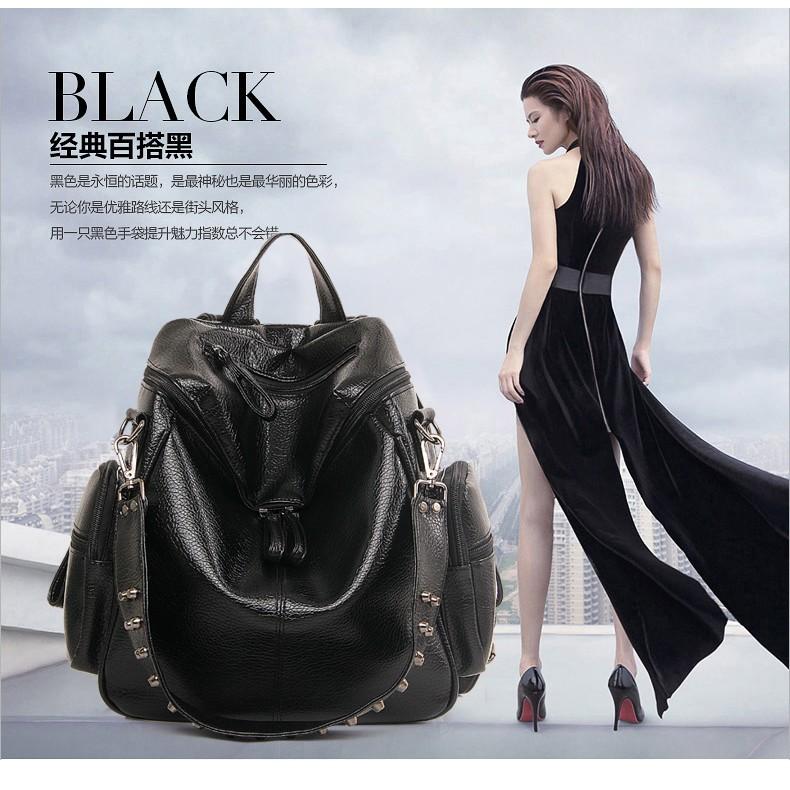 q1315 tas ransel import wanita  branded korea  original batam 2020