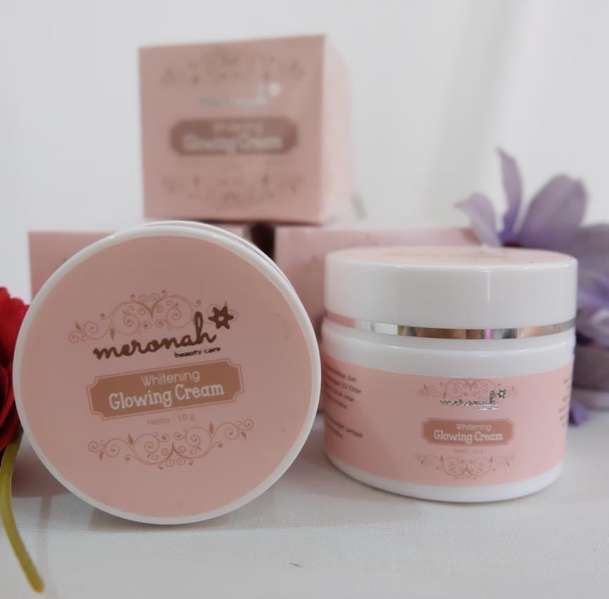 cod meronah beauty care glowing cream 2 in 1 original