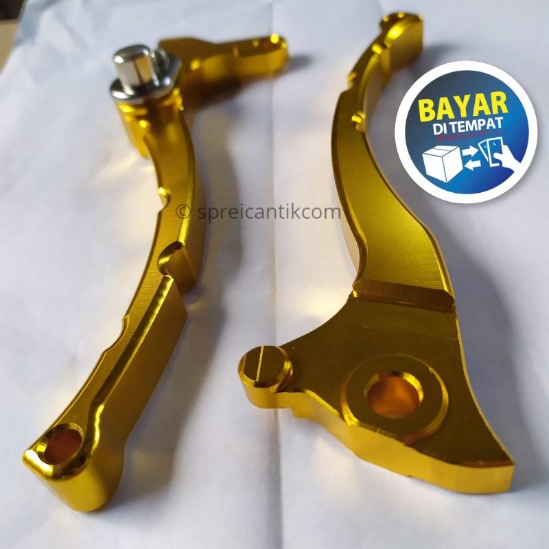 handle/handel rem variasi cnc gold – mio j / mio m3 / mio z / mio soul gt / mio gt / xeon / xeon gt / mio fino