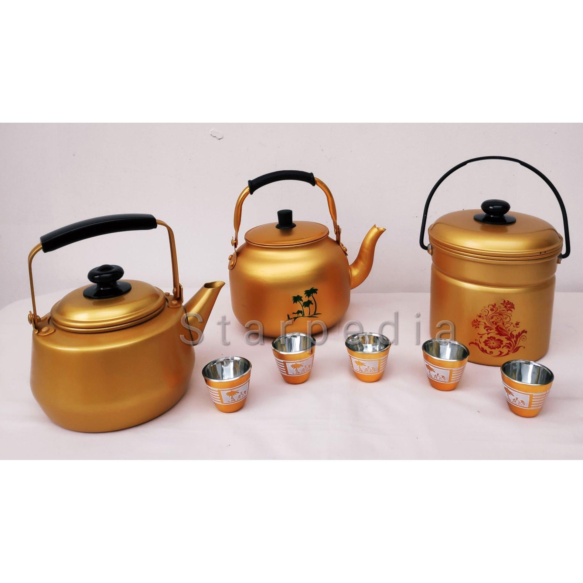 Rantang Kuning Tunggal 14cm / Golden Single Canister 14cm - 3 .