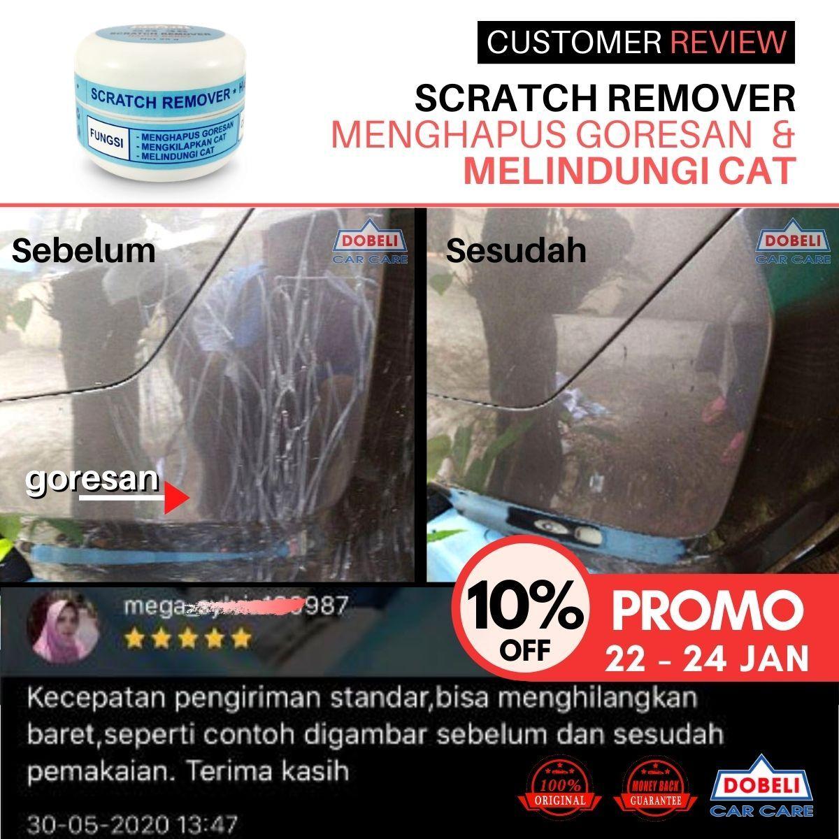menghapus baret goresan cat mobil / motor / sepeda / kapal / .free microfiber! / scratch remover sr 36  l  hapus baret permukaan cat mobil  i  dijamin puas  l  25g