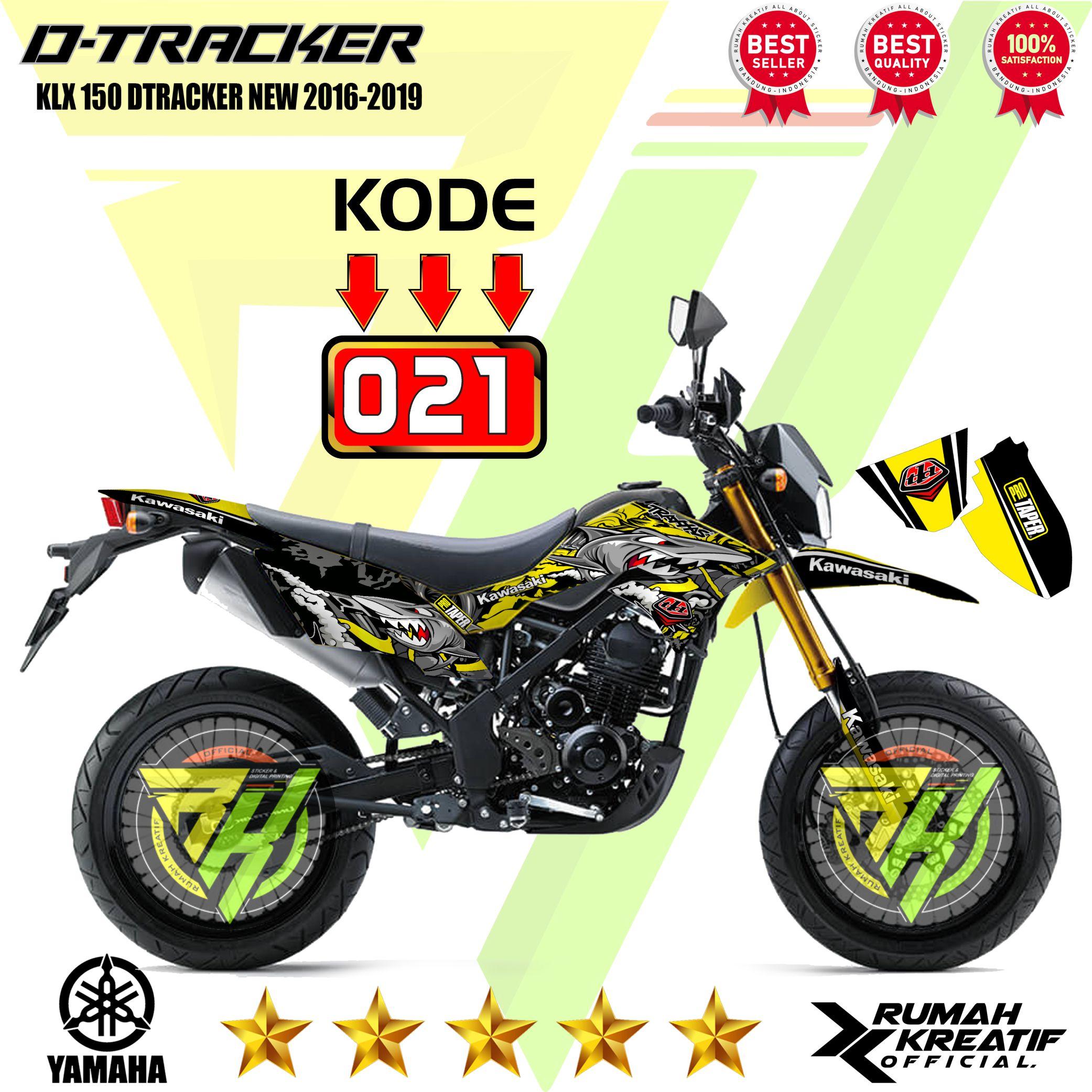 d-tracker (klx 150 dtracker new -) striping variasi