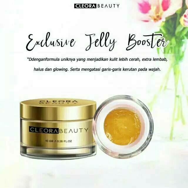 (bisa cod) cleora exclusive jelly booster