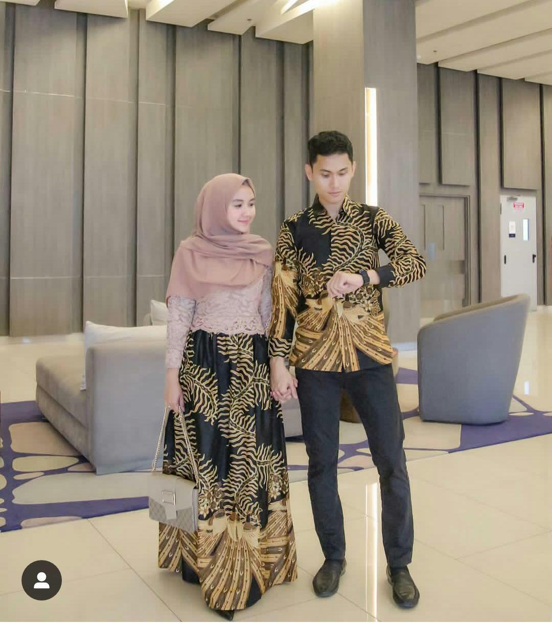 Review Zaviera Couple Batik Brokat Zaviera Seasang Gamis Kondangan