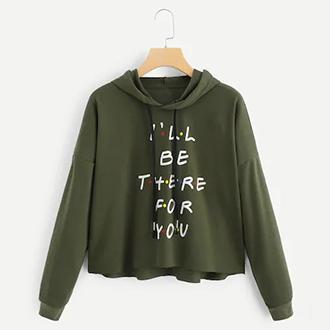 esteticcollection sweater wanita hoodie crop lengan panjang ive got your back babyterry