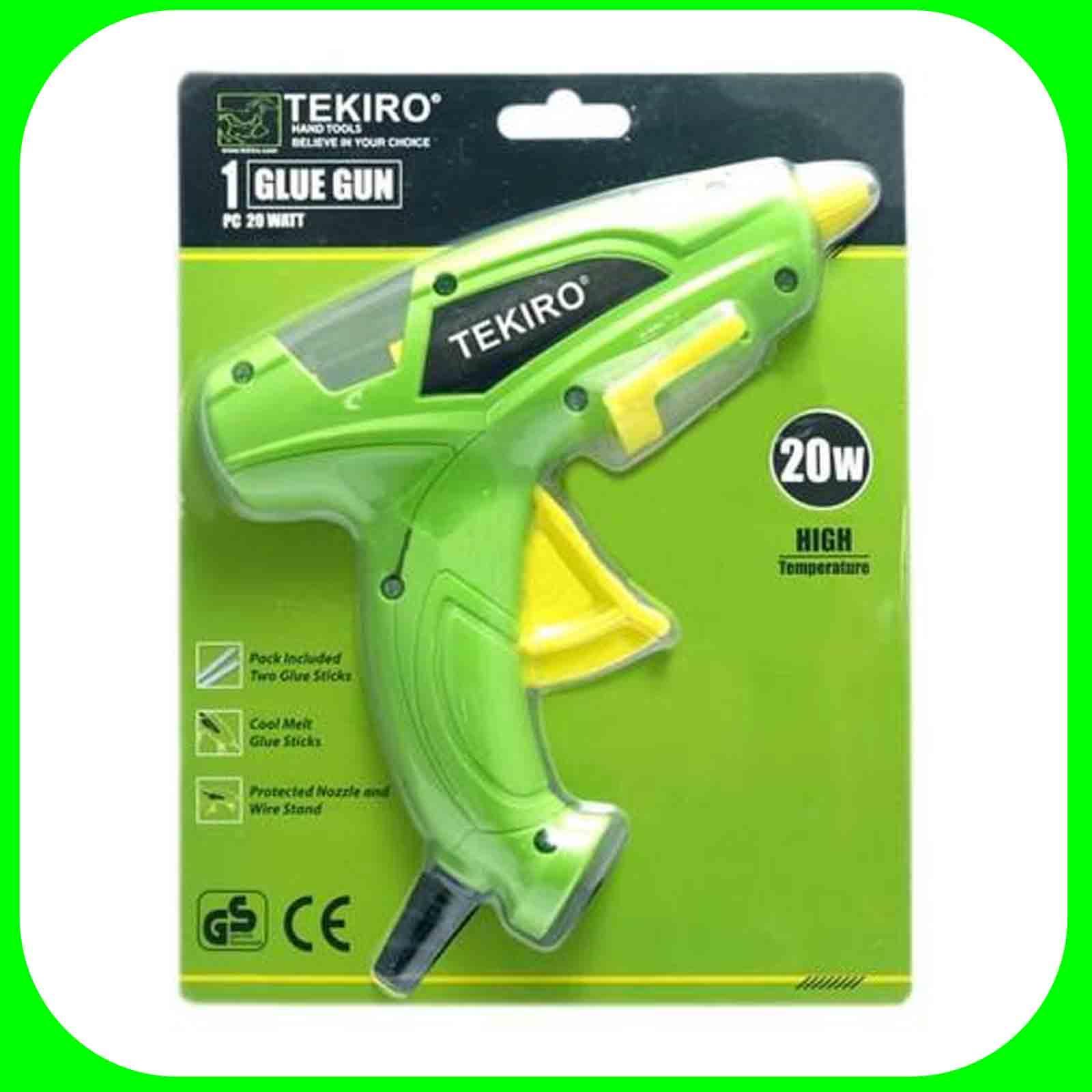 glue gun/alat lem tembak bakar/pistol lem 20 watt  tekiro gt-gg1723