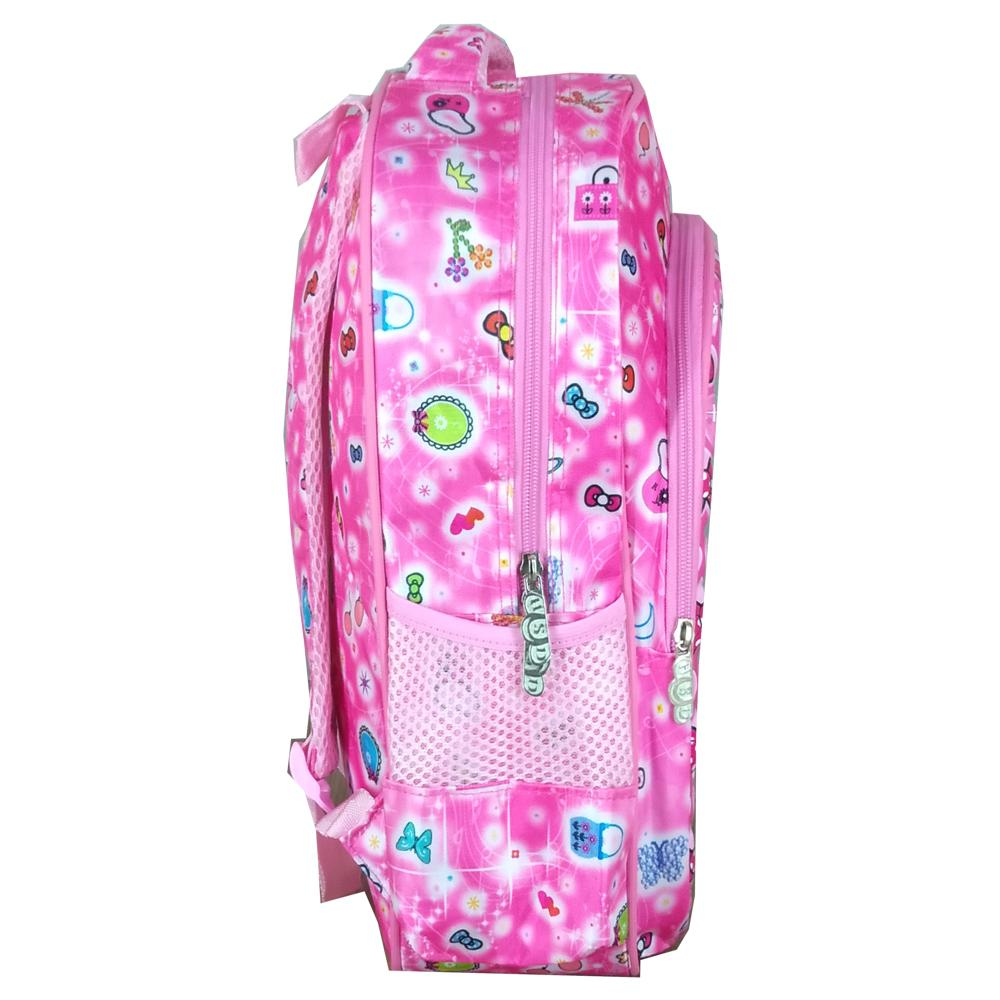 ... BGC Tas Ransel Sekolah Anak TK Hello Kitty Love IMPORT High Quality + Lunch Bag Aluminium ...