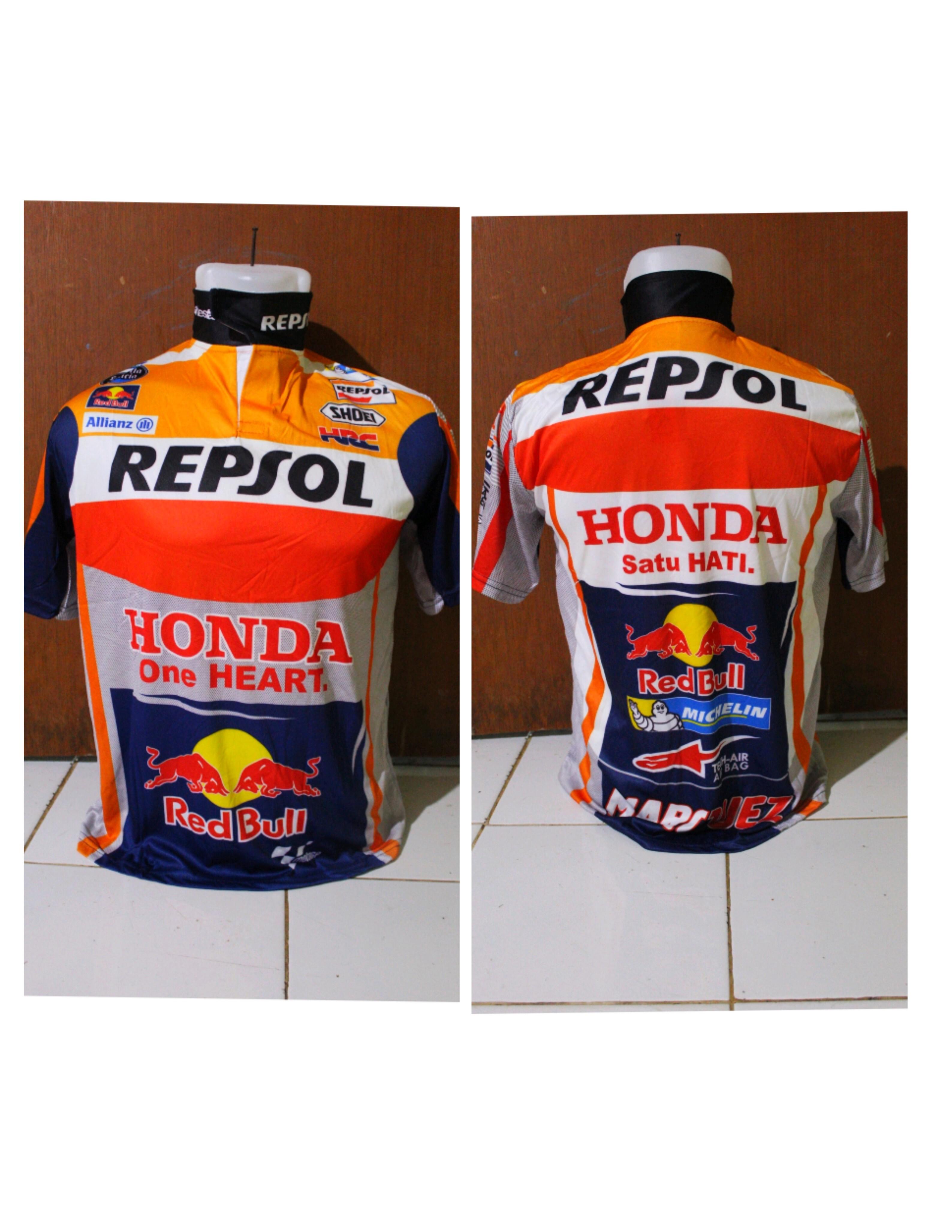 jersey baju motor cross honda/bajumtb/baju dunhil team honda krah