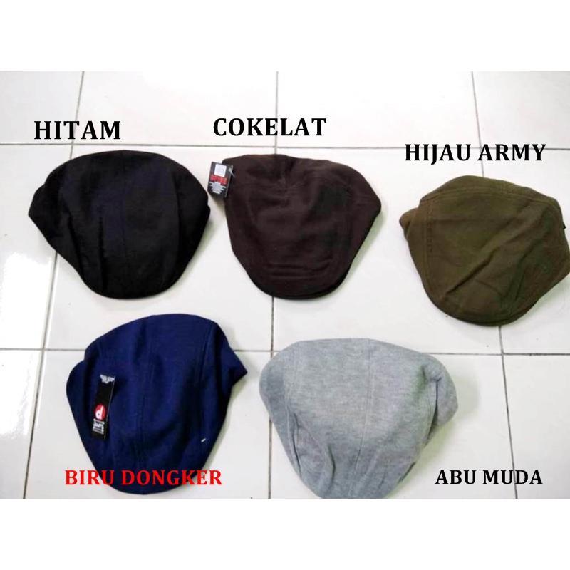 Topi Pet Newsboy Polos - Daftar Harga Terbaru dan Terlengkap Indonesia 60af56c46c