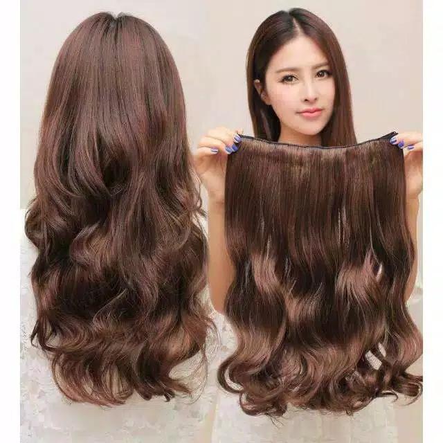 hair clip rambut curly/hair clip /kimiko