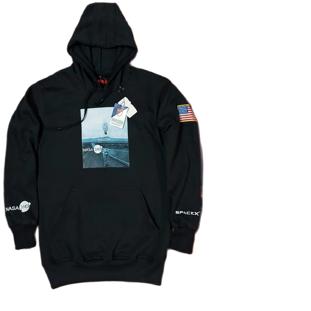 sweater other pria-jaket sweater hoodie pull over nasa spacex360 ( nasa)-sweater hoodie pria -sweater pria original nasa spacex 360