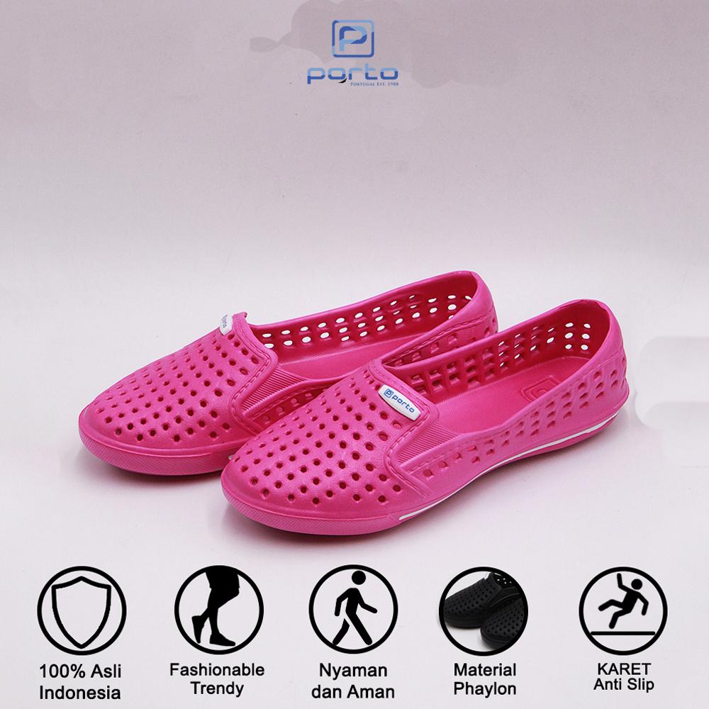 porto footwear – sepatu sandal selop casual wanita 3010l size 36-40