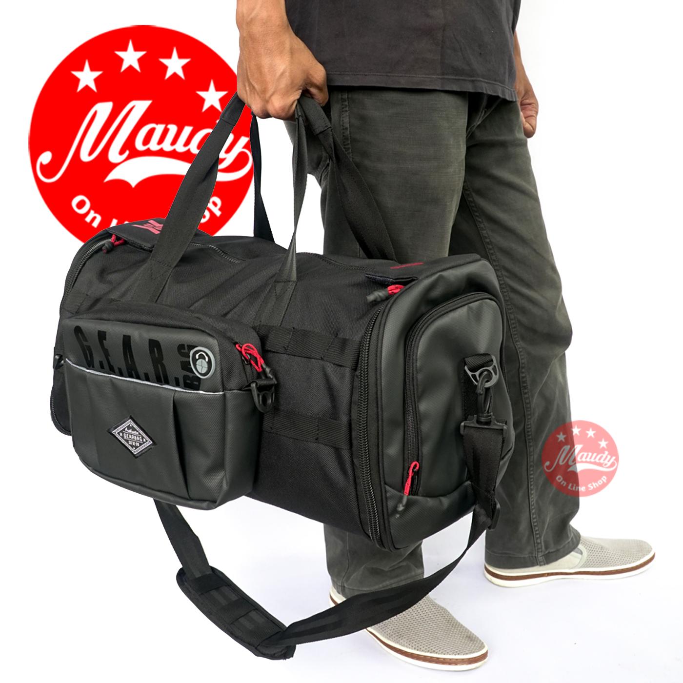 travel bag duffel bag messenger bag tas pakaian pria tas jinjing tas selempang tas olahraga tas mudik tas multifungsi tas elegan – gearbag outland