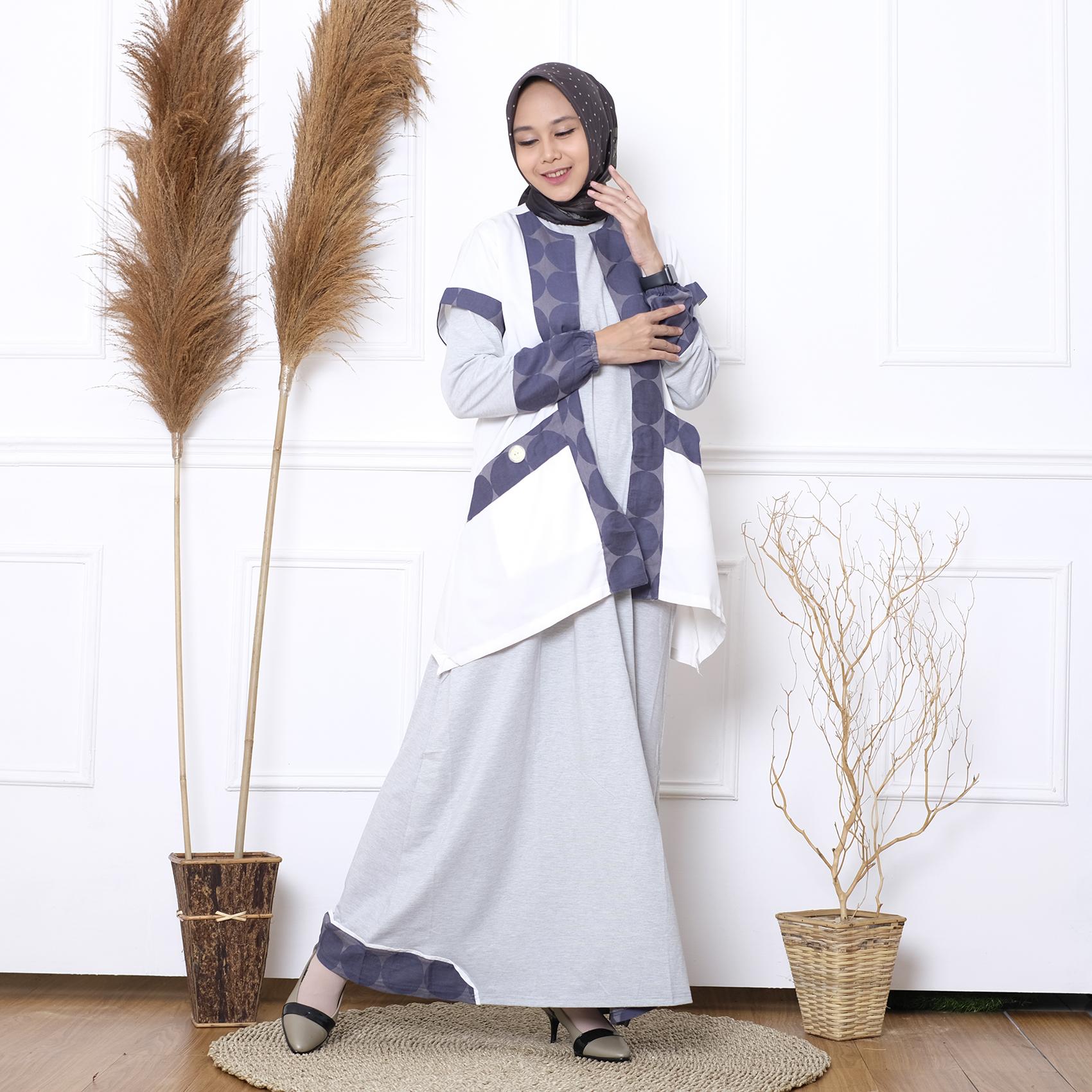 zee haura etnik dress by.haymee | gamis etnik syari