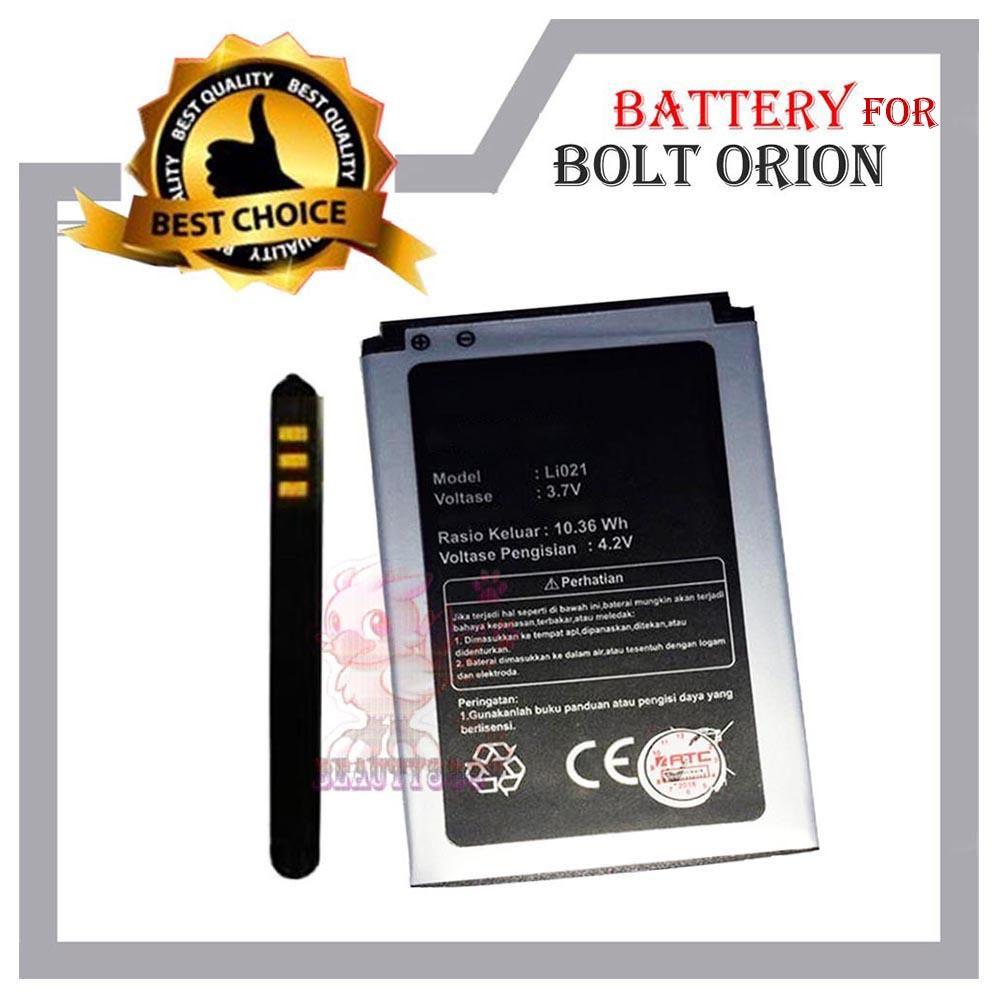Baterai High Quality / Batere Batrei Battery Kualitas Terpercaya Type Li021 Compatible For Modem Bolt Orion