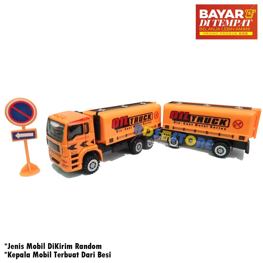Mainan Anak Cowok Mobil Mobilan Mobil Truk Semen Construction Car