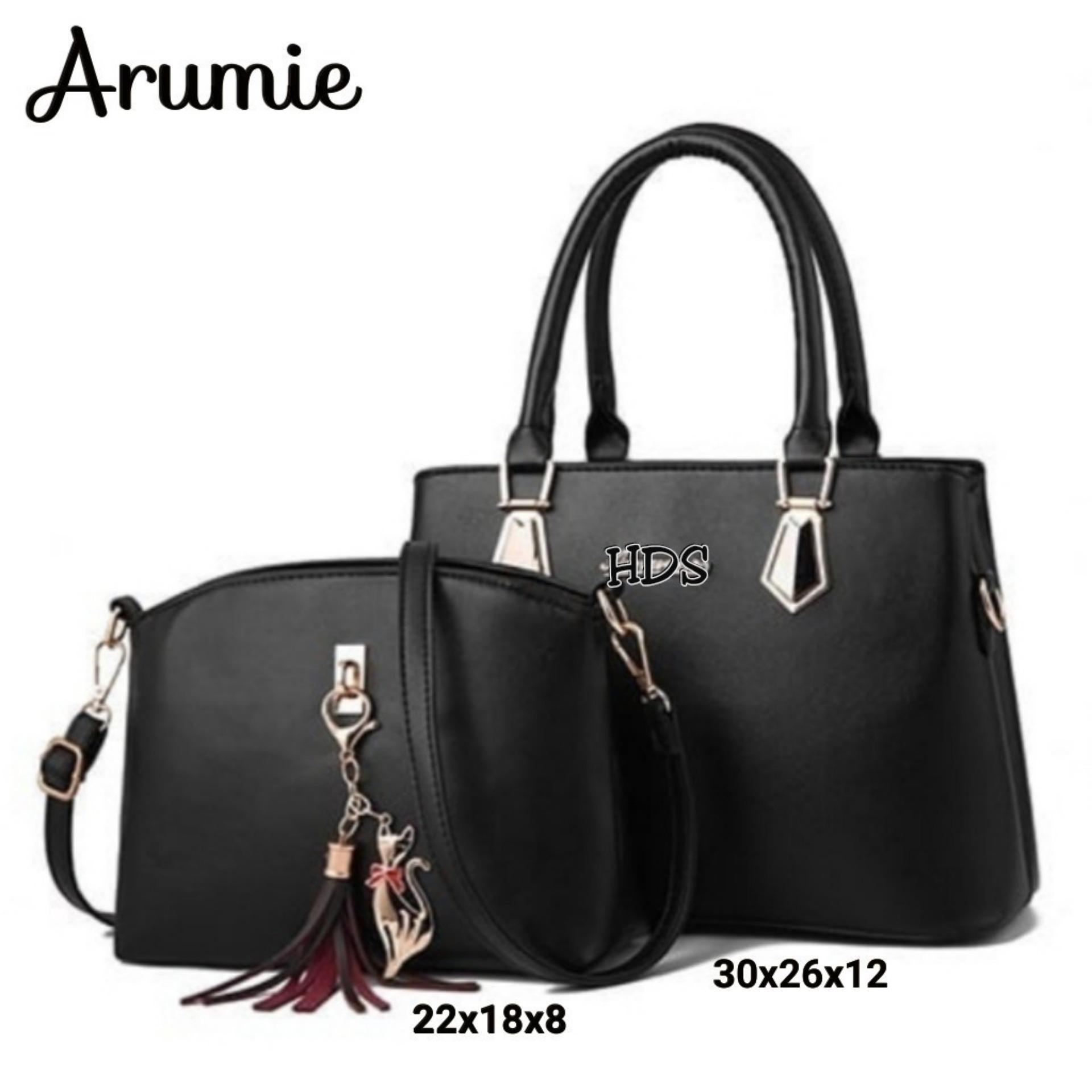 Zeba Sling Bag Korean Style Arumie / Tas Selempang Wanita Korean Style