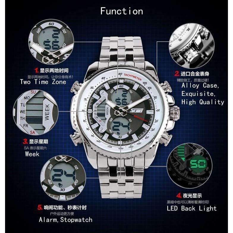 ... Jam Tangan Pria / SKMEI / S-Shock / Dual Time / 0993 2 ...